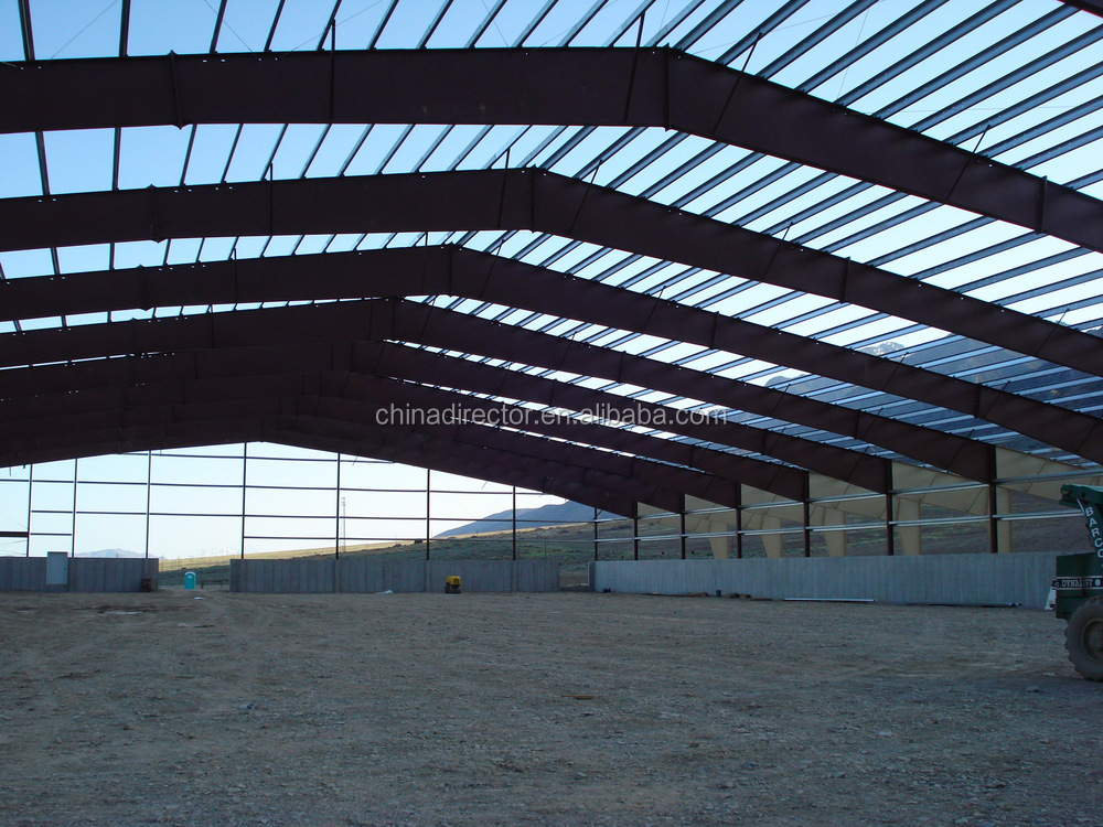 Alibaba China Supplier Cheap Building Prefabricated Light Steel Portal Frame