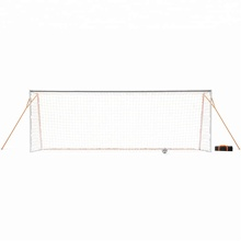 PRO Training Voetbal Doel-Full Size Ultra Draagbare Voetbal Netto (7.2x18 Ft.)
