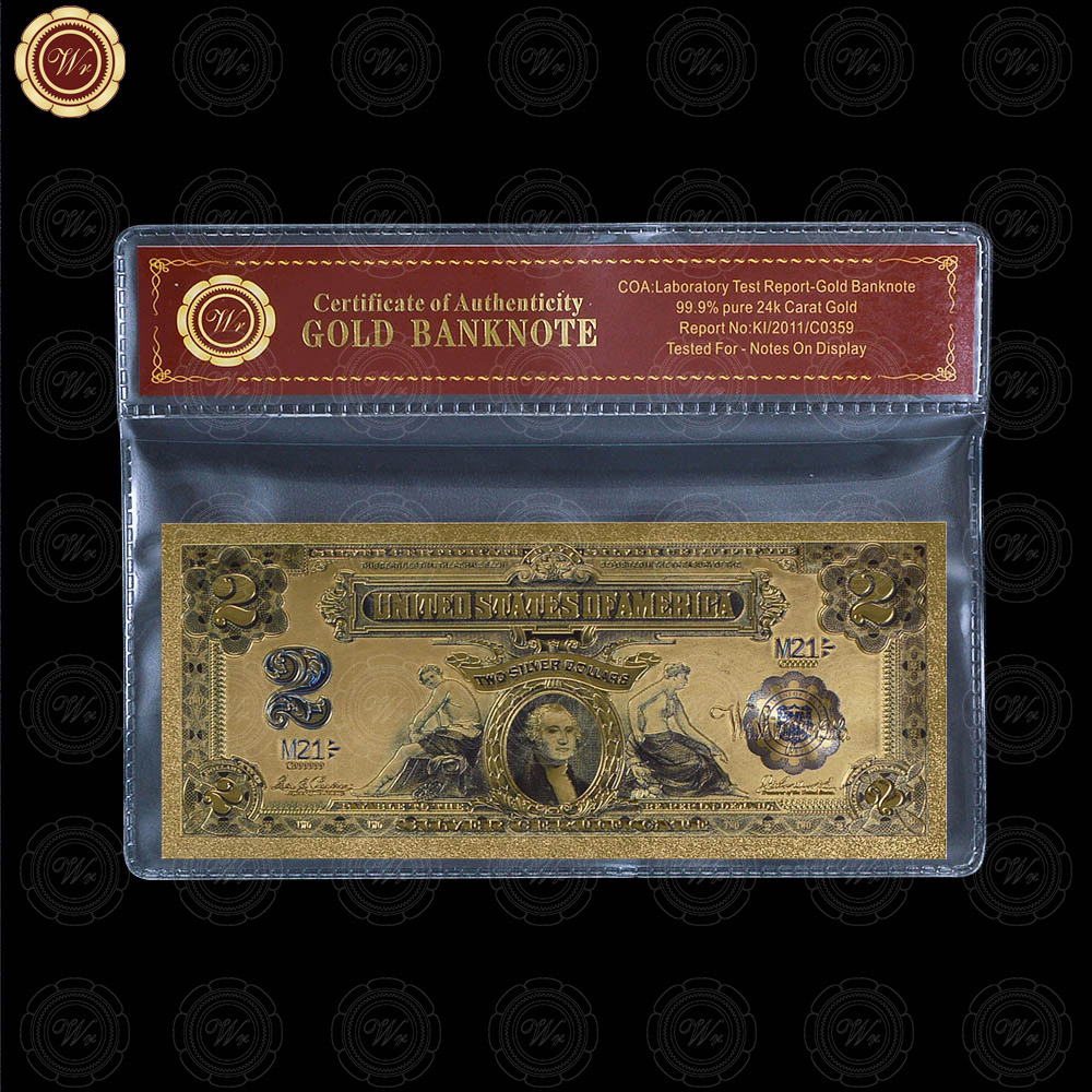 Strong Gold Banknote 24k