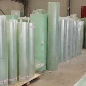 Fiberglass reinforced polyester roof sheet roll