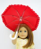 high quality doll umbrella accessories for 18inch dolls