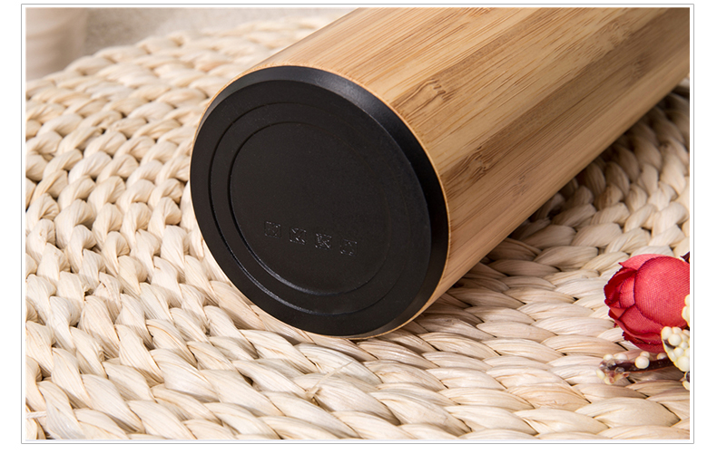 600Ml Drinking Bottle Stainless Steel Wood,Stainless Steel Water Bottle Lid Cover,Insulated Bottle