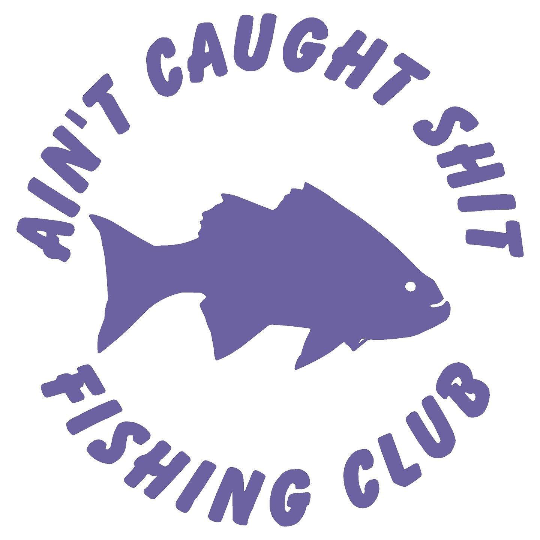 6e5bb797edcfc9 Fishing Club Fish Funny Car Boat Hunting Fishing Sticker Decal (5.5