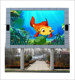 Customized size hd tv video wall p6 outdoor fixed giant led screen