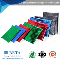 standard US and EU size or Customized Metallic Coated Bubble Mailer Or Envelope