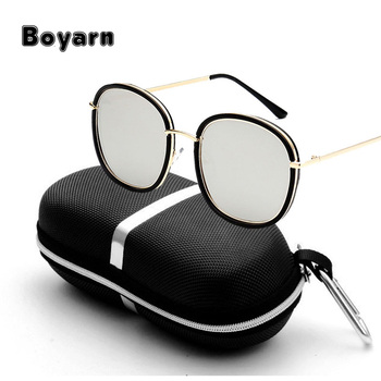 2017 High Quality Luxury Sunglasses Men Women Brand Designer UV400 Vintage  Advanced customization cheap Sunglass 16c598417c52