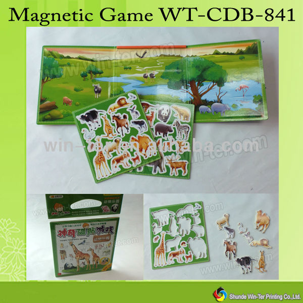 WT-CDB-841 Custom magnetic board learning toys