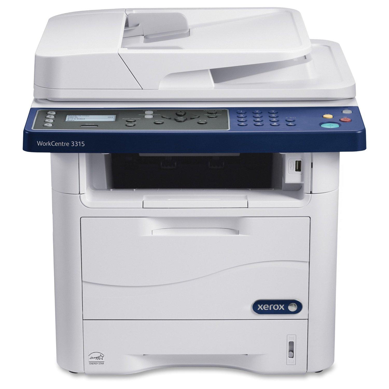 Xerox Corporation - Xerox Workcentre 3315/Dn Laser Multifunction Printer - Monochrome - Plain Paper Print - Desktop - Copier/Fax/Printer/Scanner - 33 Ppm Mono Print - 1200 X 1200 Dpi Print - 33 Ipm Mono Copy (Iso) - 4800 Dpi Optical Scan - Automatic Duplex Print - 300 Sheets Input - Fast Ethernet -