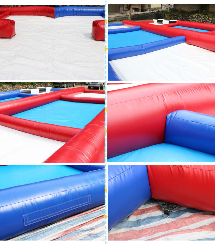 Giant outdoor inflatable TPU zorb ball track hamster ball race track for adult game