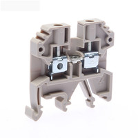 0.5~35mm2 pitch din rail barrier spring terminal blocks connector