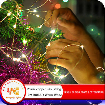 IP65 Waterproof 2017 New Product RGB Outdoor Twinkle Christmas Rice Lights  Made In China