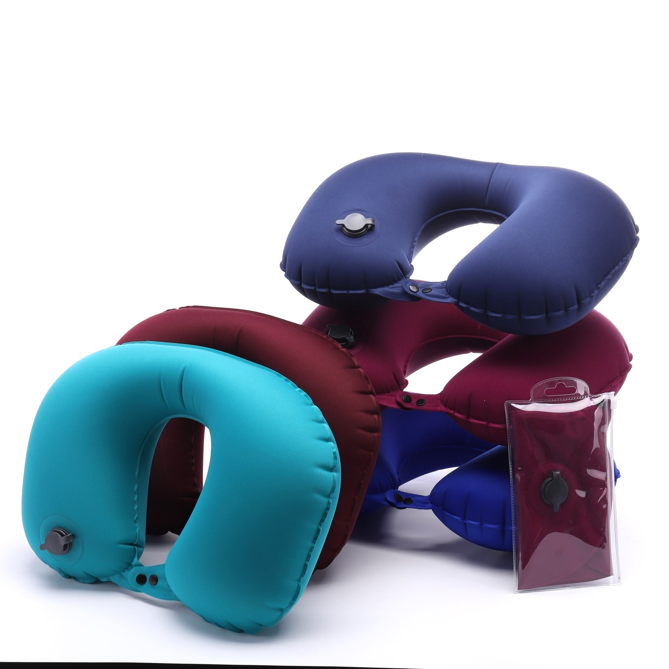 2019  Travel Inflatable Pillow, Travel Pillow,  Inflatable Neck Pillow  IP-015