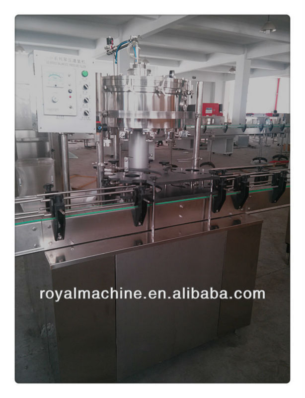 Automatic 2-In-1 Carbonated Beverage Pop can/Aluminum can/PET Can Filling Machinery / line