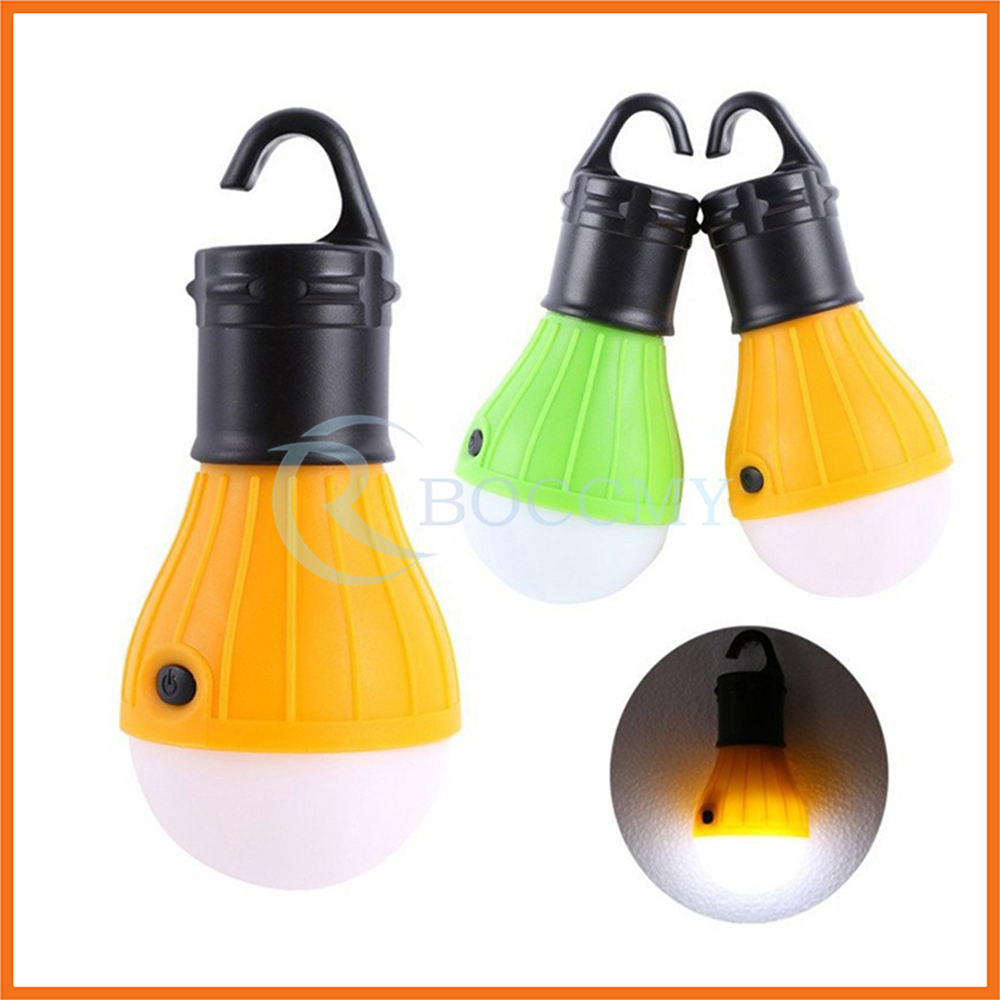 Outdoor Equipment Battery Powered Waterproof Portable LED Lantern Tent Light Bulb
