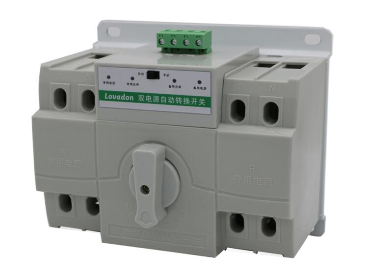 Intelligent Switch 220V Ats Controller Automatic Power Transfer Switch