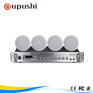 60 watt home sound system for restaurant / supermarket/ hall/ hotel
