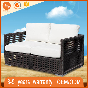 Factory Directly Patio Wicker Rooms To Go Outdoor Sofa Poly Rattan Furniture