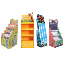 Supermercato Promozionale Cartone Ondulato <span class=keywords><strong>Display</strong></span> <span class=keywords><strong>Rack</strong></span>, Cartone di Carta Cartone Piano <span class=keywords><strong>Display</strong></span> Stand