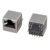180 RJ45 Connector JACK RJ45 8P8C With LED Ind Temp  Shielded/Thru Hole