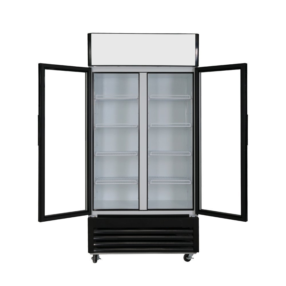 Supermarket commercial glass door refrigerator freezer for cola buy refrigerator freezer glass - Glass door refrigerator freezer ...