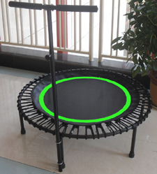 48 inch Bungee Trampoline with balance handle bar-in