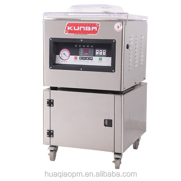 Floor table type nitrogen gas flushing Food Vacuum Sealer DZ-400 empacadora al vacio