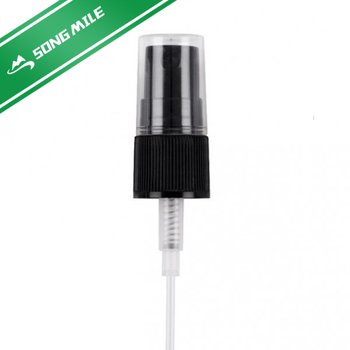 Cosmetic usage customized order size 20 410 output 0.12ml plastic screw mist sprayer