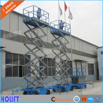 holift mobile manual hydraulic scissor lift table trolley buy rh alibaba com