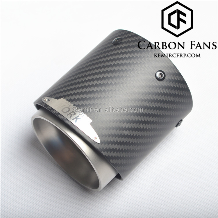 Mini Jcw Carbon Fiber Exhaust Tip For Mini Cooper S Clubman