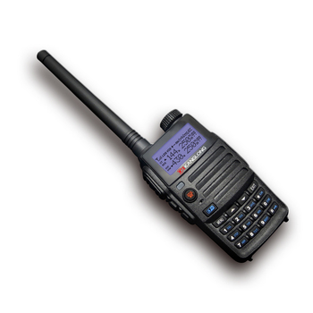 KL-H3 UHF VHF Rádio Long Range Walkie Talkie Dual Band