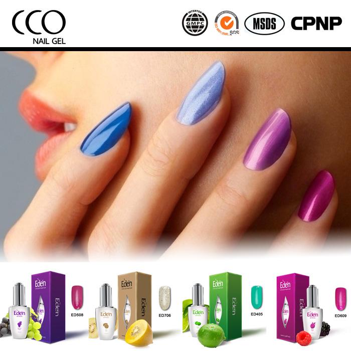 Eden 15ml Permanent Nail Led Lamp Color Gel Nail Polish Uv Curing ...