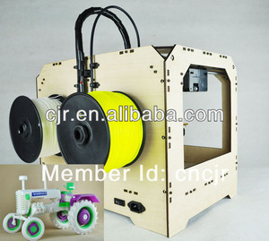 3D Printer 8.9*5.7*5.9inch building envelop dual extruder Real open source ABS PLA new booking linking 3D printer/ machine