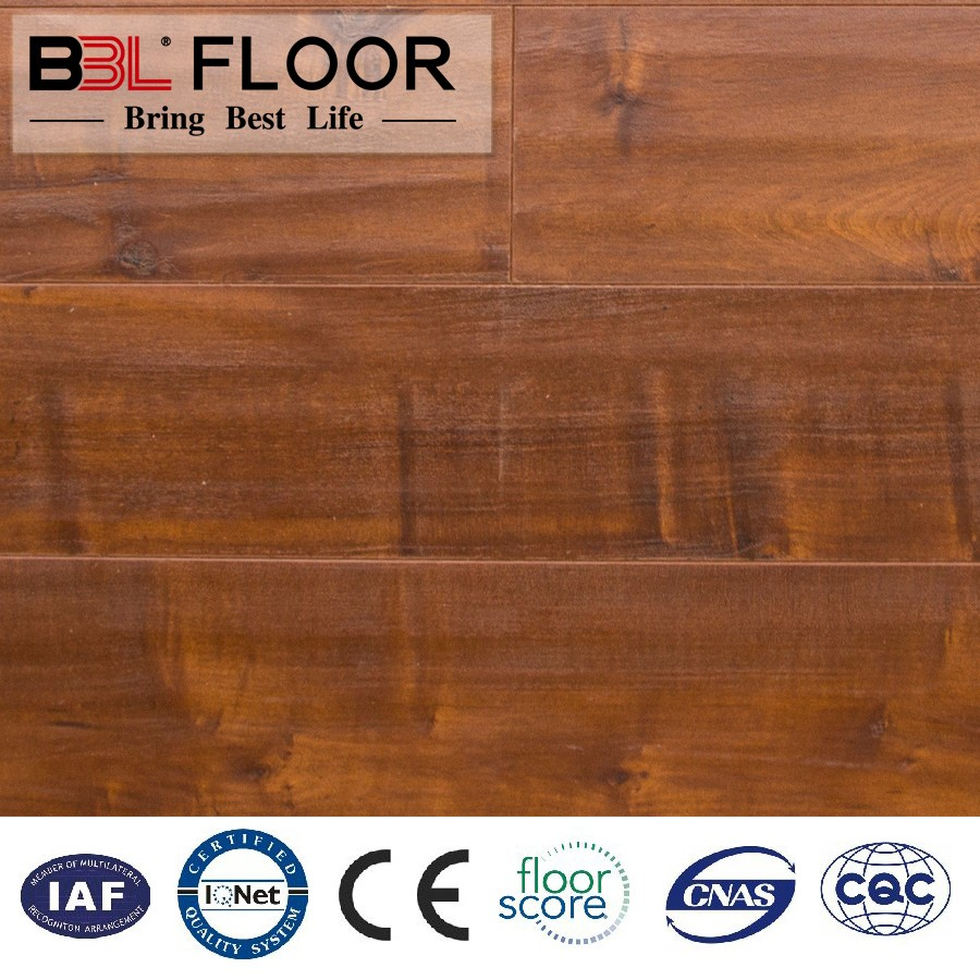 BBL engineered handscrap laminate flooring with good price