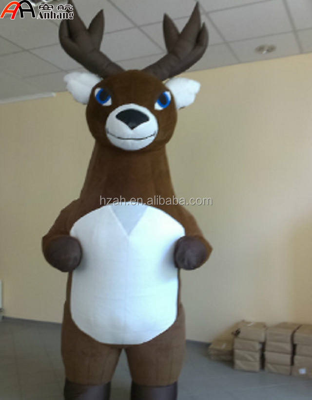 Christmas Decoration Inflatable Reindeer Costume/ Inflatable Deer Mascot  Costume   Buy Inflatable Deer Mascot Costume,Christmas Decorative Reindeer  ...