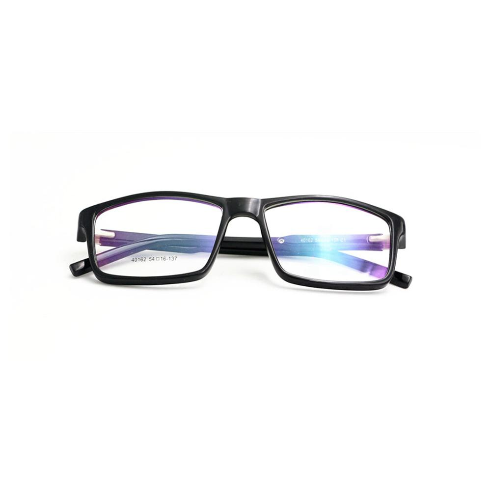 Black Eyeglasses Frames Anti Blue Light Blocking Computer Glasses фото
