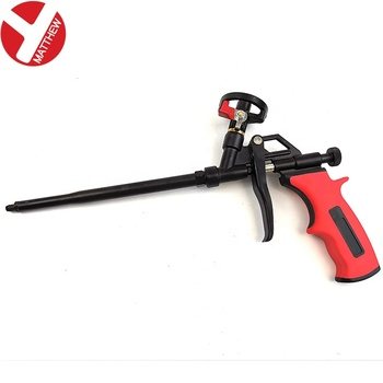 PTFE Coated Low Pressure Polyurethane Foam Spray Gun With Swith on/off Valve