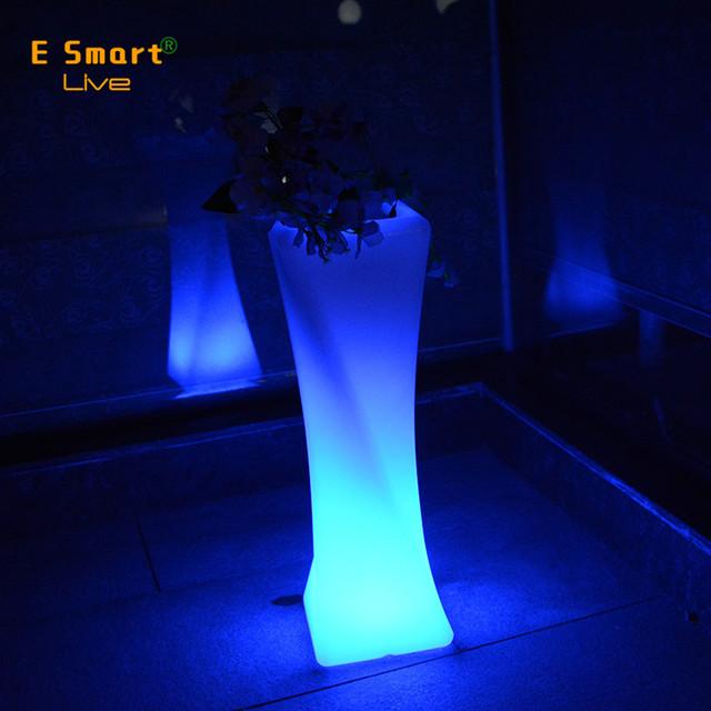 planter lighting. Color Changing Planter Light Up Outdoor Furniture Led Flower Pot Lighting