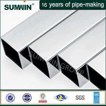 Best selling Titanium stainless steel square tube made in China