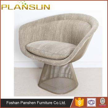 replica designer furniture warren platner wire easy chair fully