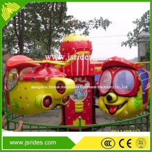 kids game rotation rides big eye airplane/ 8 seats mini big eye air plane for sale