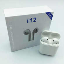 Pop Up Window Version Original Factory i12 TWS Bluetooth Headphones Earphones For Apple Earphones