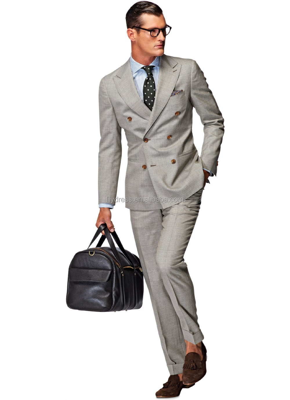 Men'S 6 Button Double Breasted Suits | My Dress Tip
