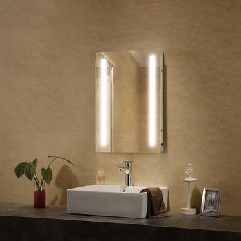 Commercial Wall Hung Bathroom Vanity Mirror - Buy Hung Bathroom Vanity  Mirror,Bedroom Vanity Table With Lighted Mirror,Salon Vanity Mirror Lights  ...