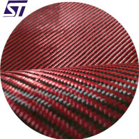 Hybrid Fabric carbon kevlar fabric cloth blanket 6k Carbon Aramid Fiber Hybrid Fabric
