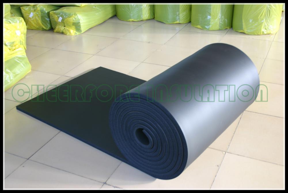 Flexible Closed Cell Elastomeric Nitrile Rubber Insulation