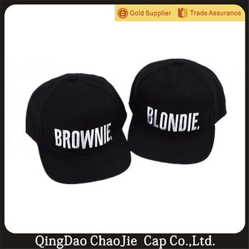 c4b70bca591db Blondie Brownie Fashion Hot Sale Snapback Hats Caps - Buy Hats ...
