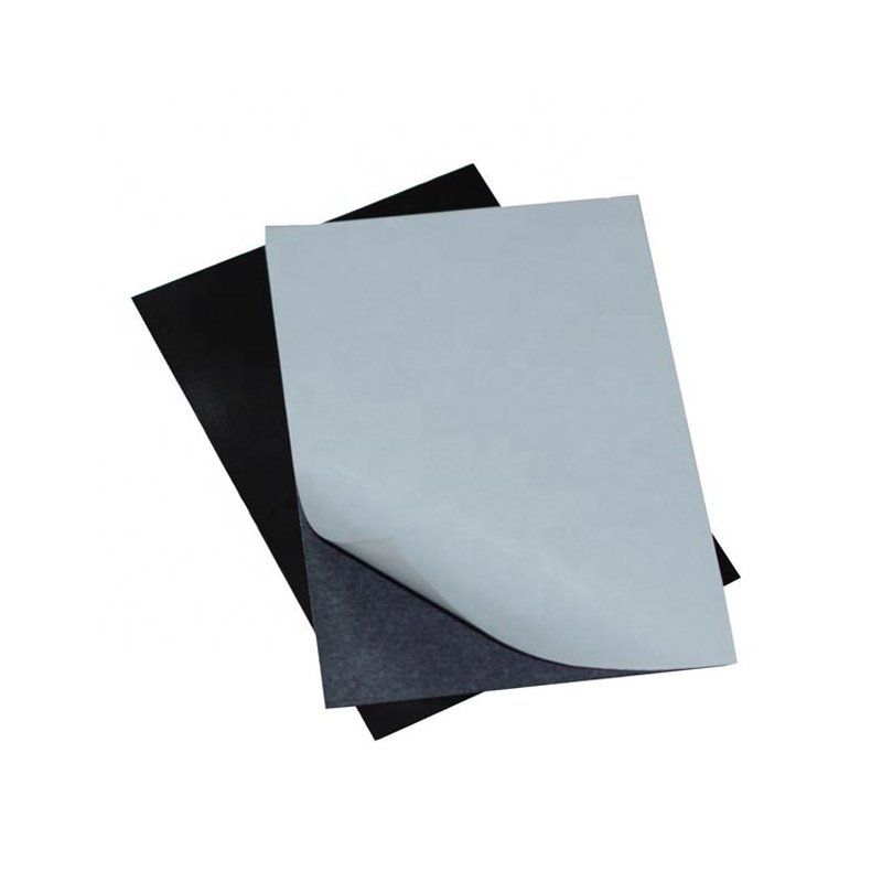 Self-adhesive rubber magnet magnetic sheet