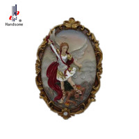 Home Decoration of religious wall hanging Guardian angel Figurine