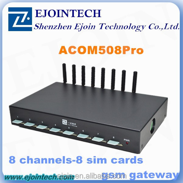 2015 hotsale 8 channels 32 sim cards gsm gateway call center equipment 64 fxs/fxo port voip gateway