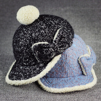 OEM service winter hats with butterfly and ball snapback caps and hats dbfda65785d